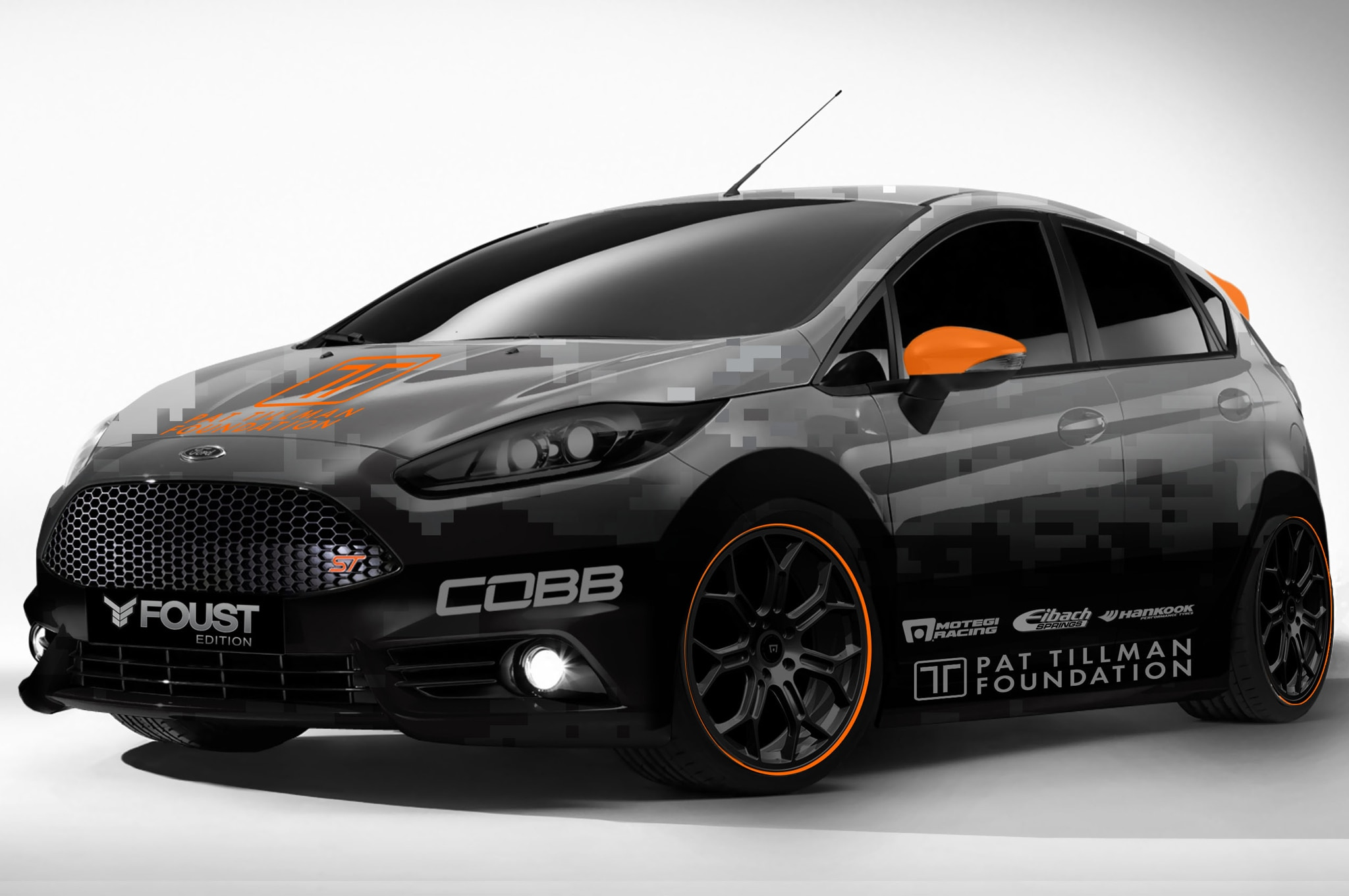 2014 Ford Fiesta ST Mustang GT Modified For 2013 SEMA Show