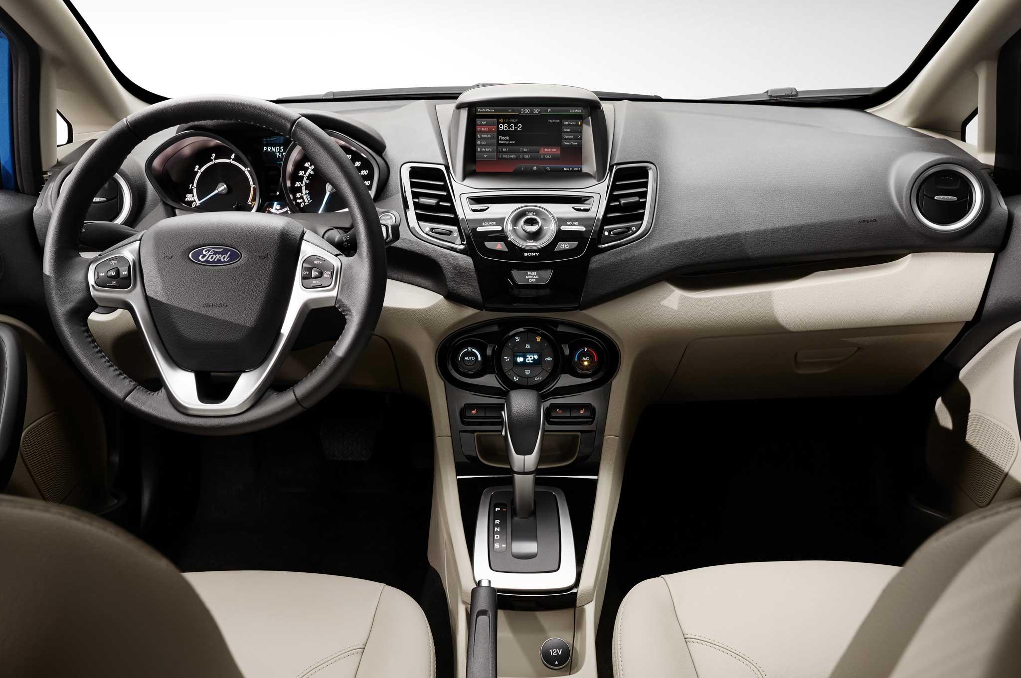 2014 Ford Fiesta Hatchback Interior