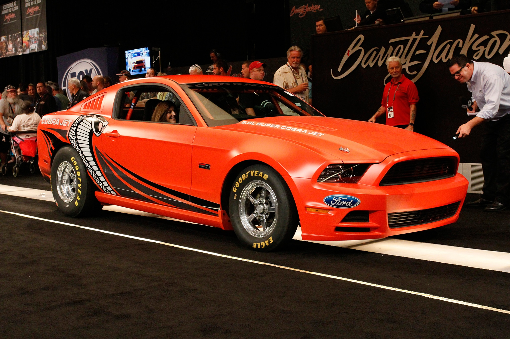2014 Ford Mustang Cobra Jet Auction Close1