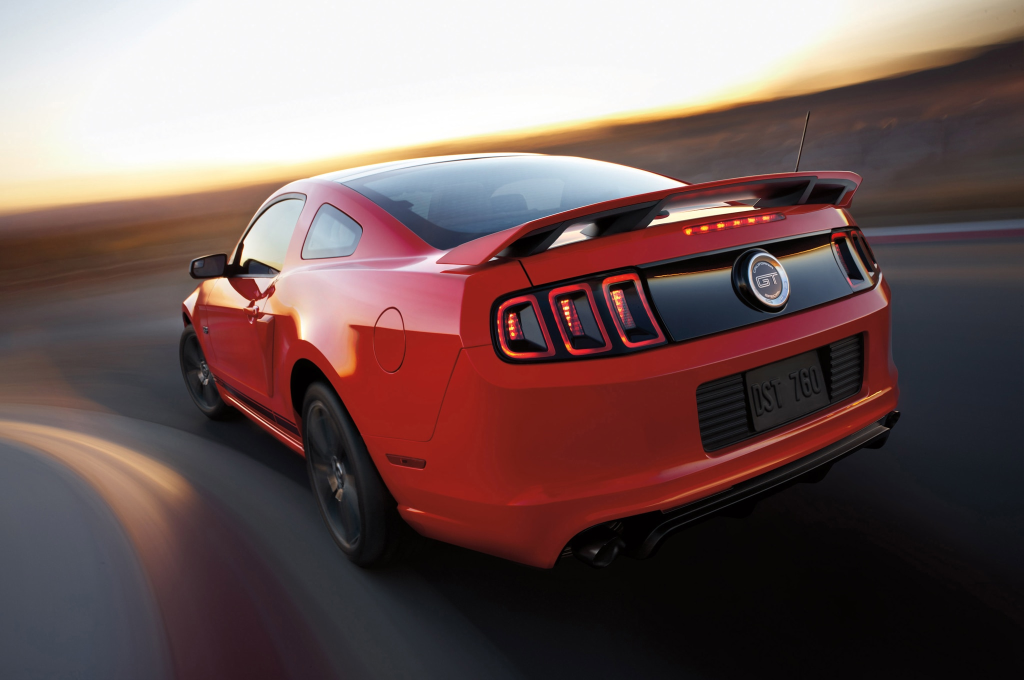 2014 Ford Mustang GT Adds Supercharger Yellow Paint For SEMA