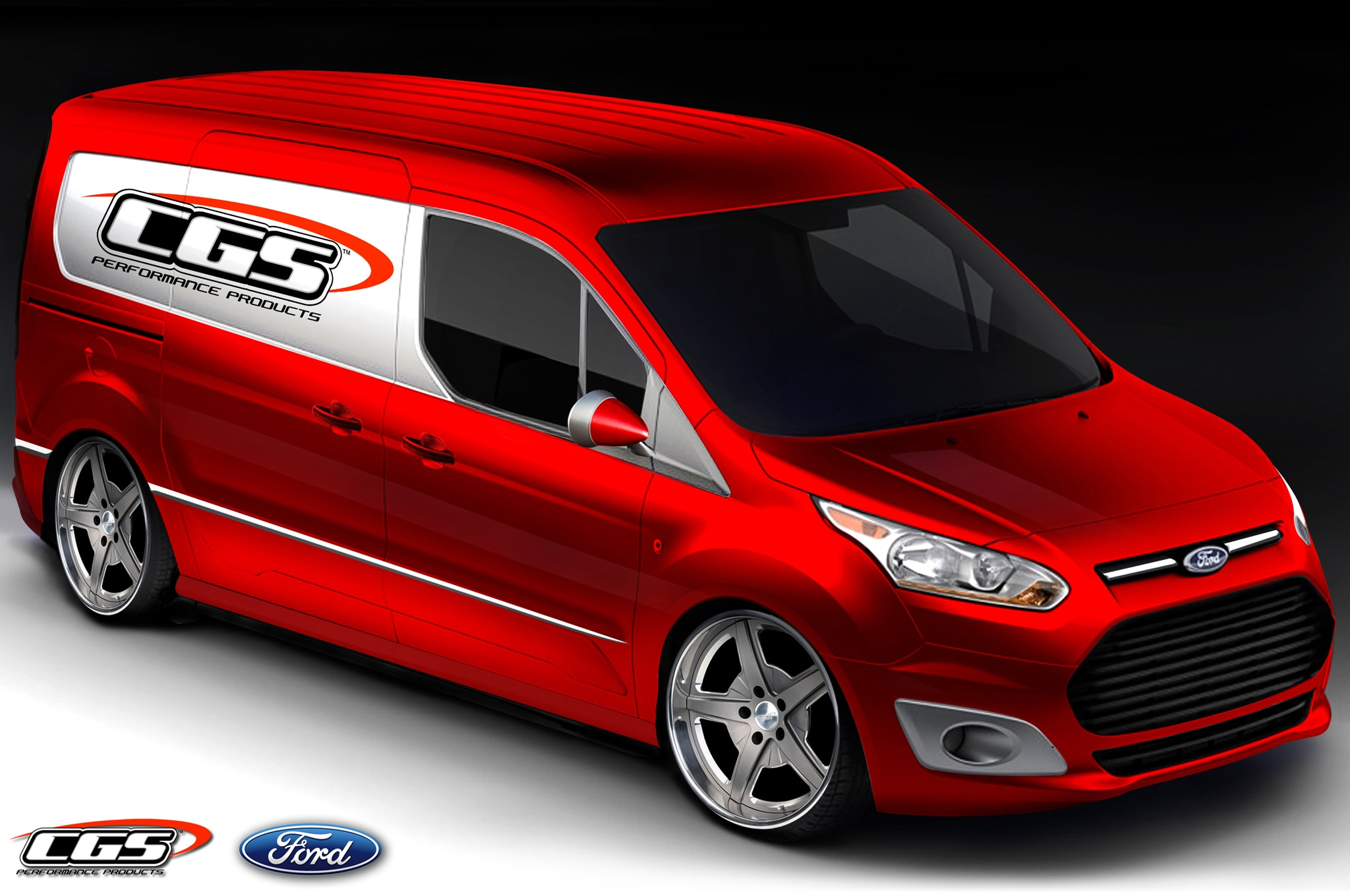 2014 Ford Transit Connect By CGS Performance1
