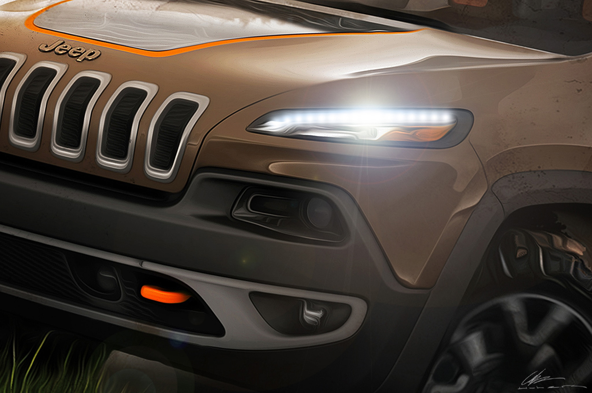 2014 Jeep Cherokee For SEMA1