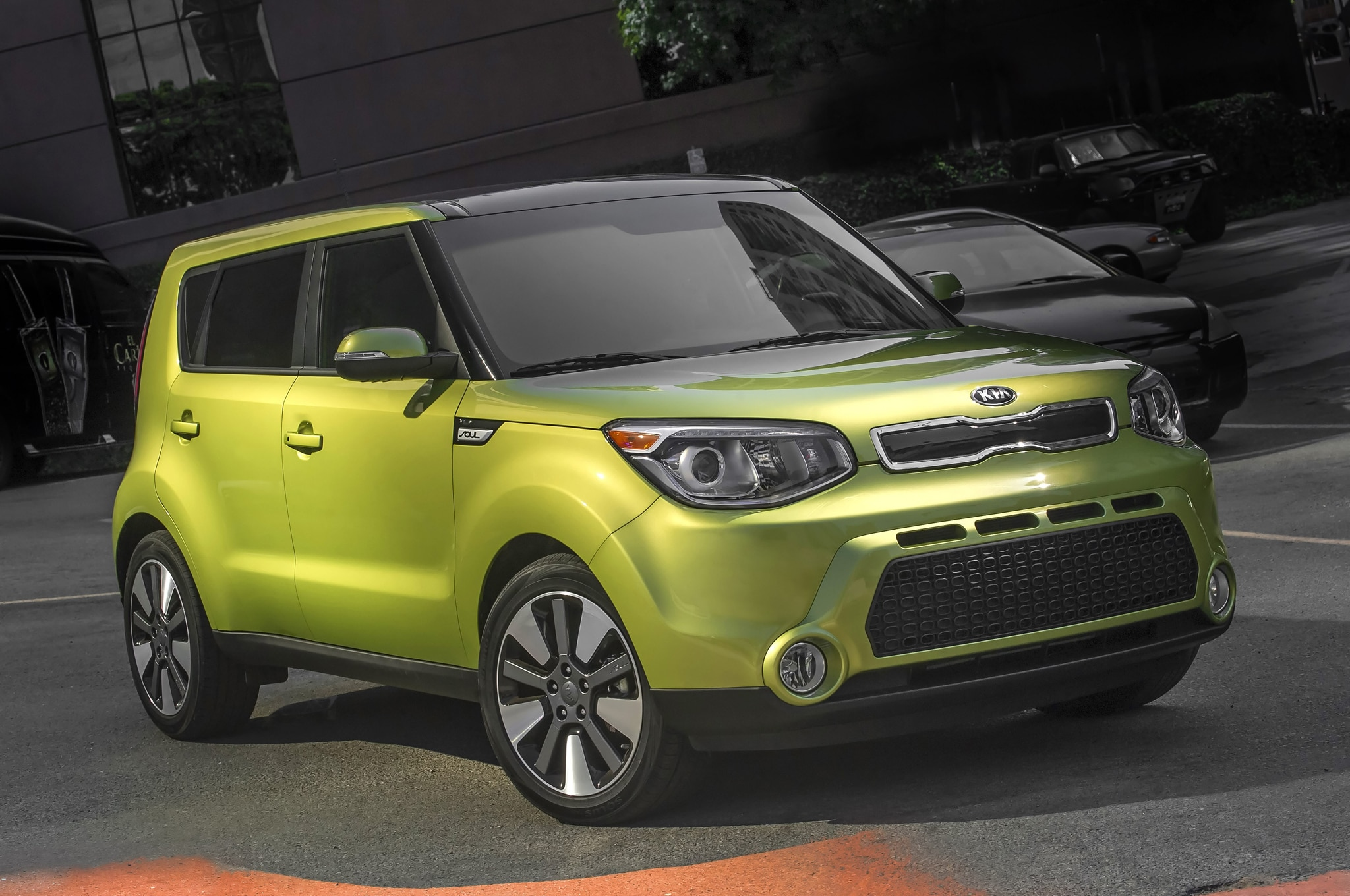 2014 Kia Soul Front Three Quarter 21