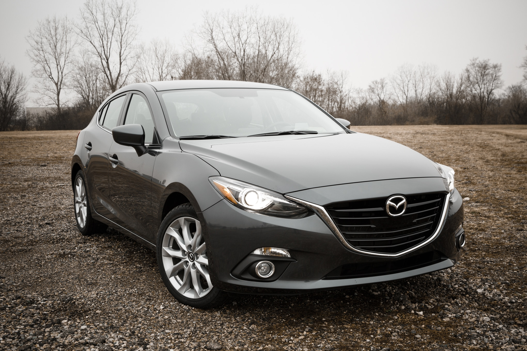 2014 Mazda 3 Four Seasons Introduction Front Three Quarter1