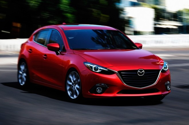 2014 Mazda 3 Hatchback Front View1 660x438