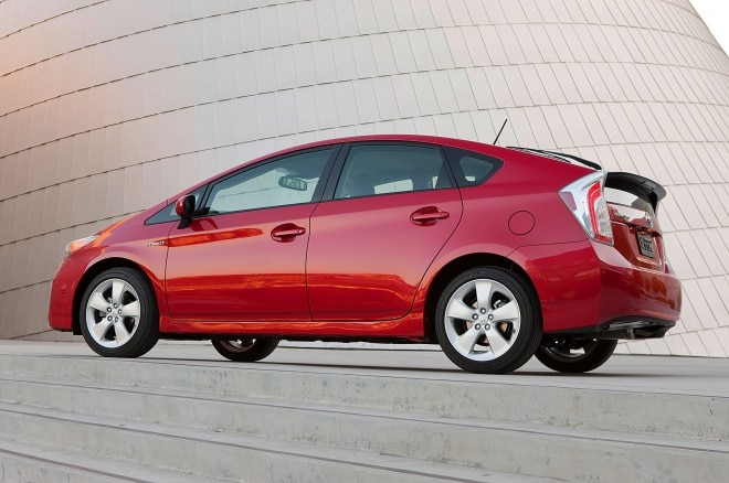 2014 Toyota Prius Rear Three Quarter1 660x438