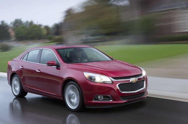 2014 Chevrolet Malibu Front Three Quarter Motion1 660x438