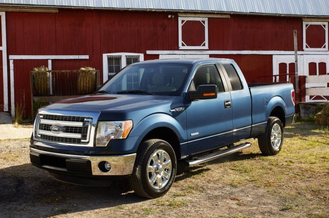 2014 Ford F150 Front Three Quarters2 660x438