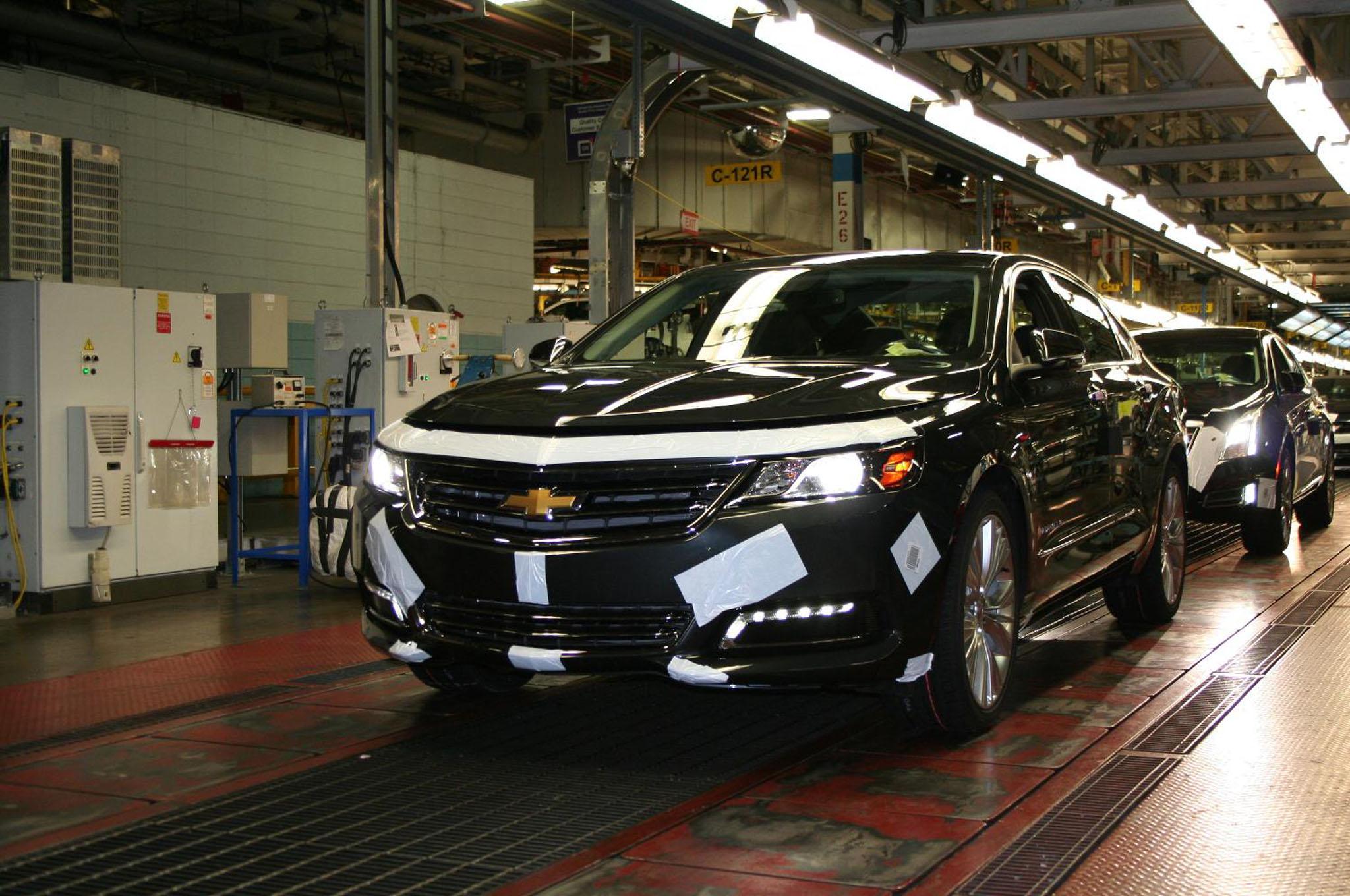 2014 Impala Production Line1