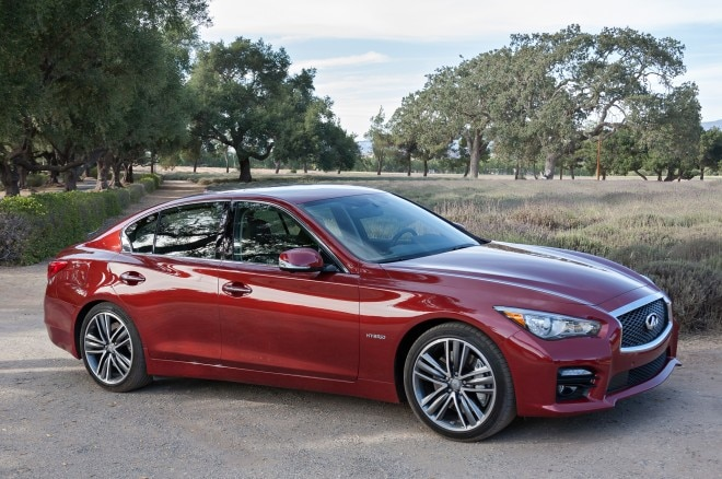 2014 Infiniti Q50 Right Front Angle1 660x438