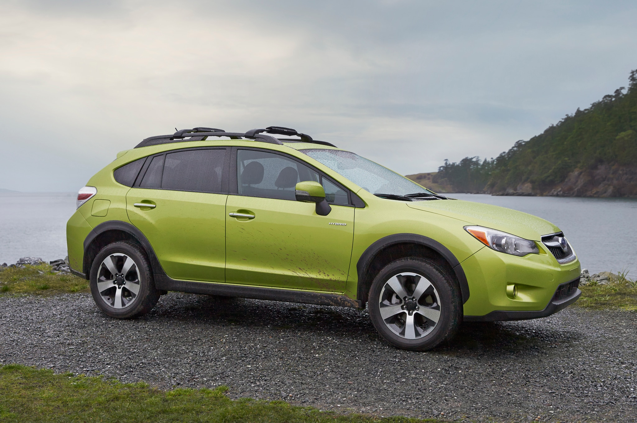 2014 Subaru Xv Crosstrek Hybrid Front Three Quarters 21