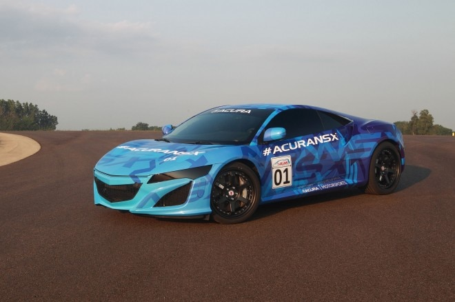 2015 Acura NSX Prototype On Track 21 660x438
