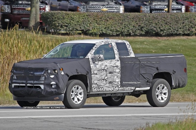 2015 Chevrolet Colorado Spied Front Three Quarter 11 660x438