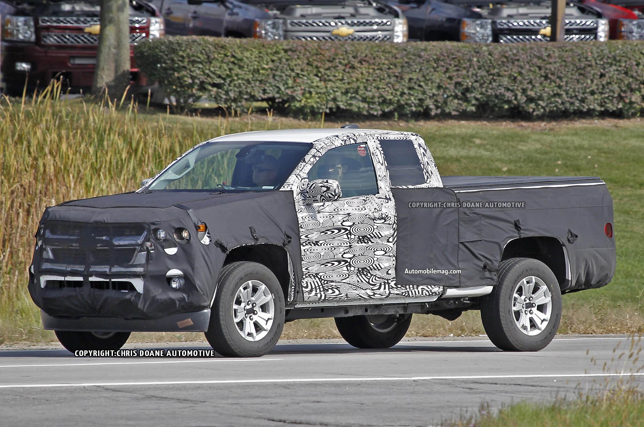 2015 Chevrolet Colorado Spied Front Three Quarter 11