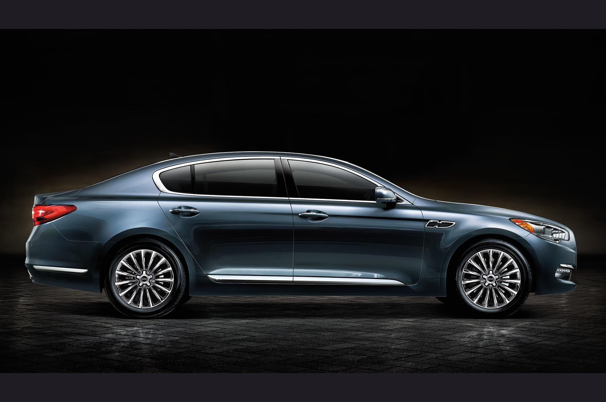 2015 Kia K900 Teaser Profile1