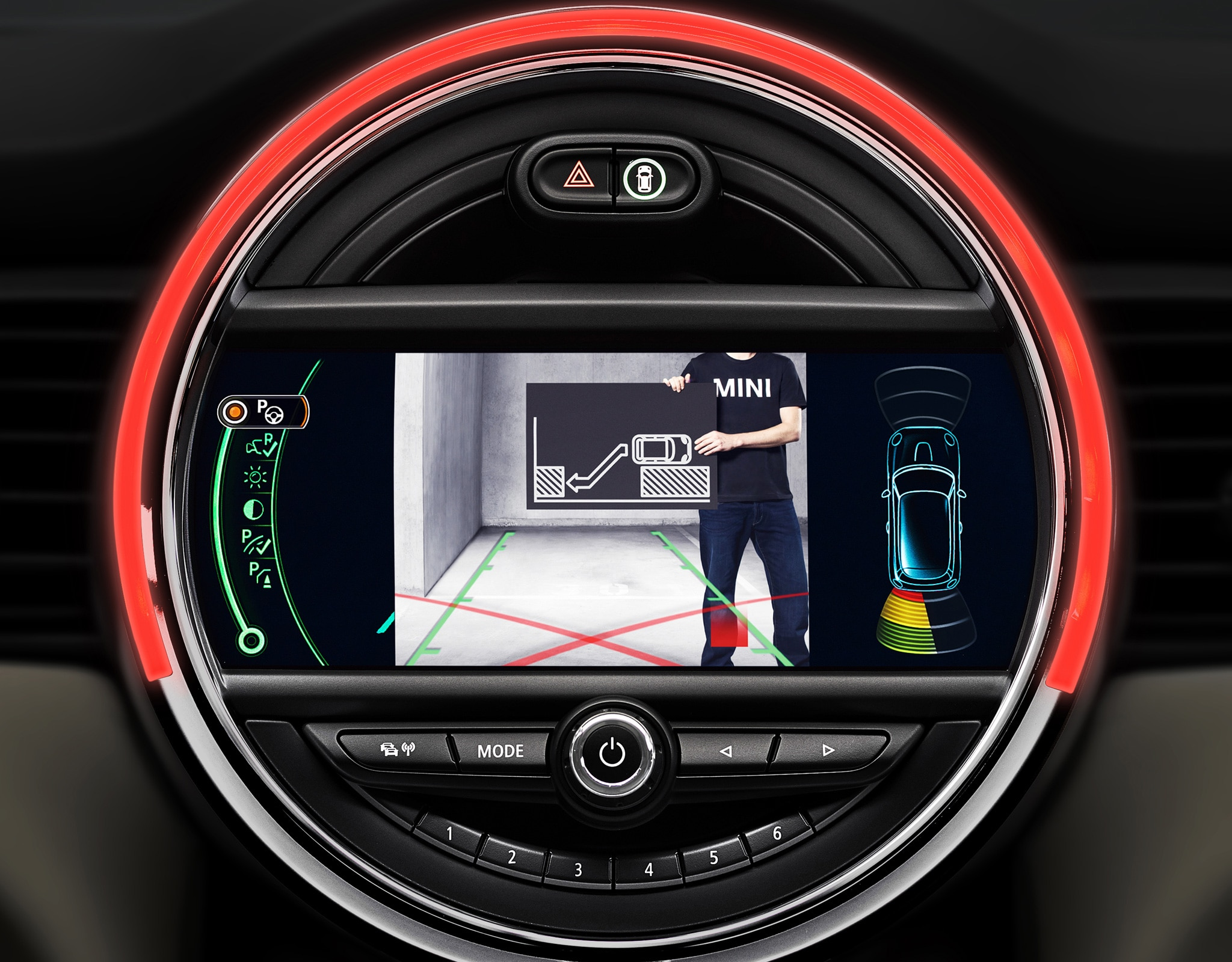 2015 Mini Cooper Driver Assistance Screen1