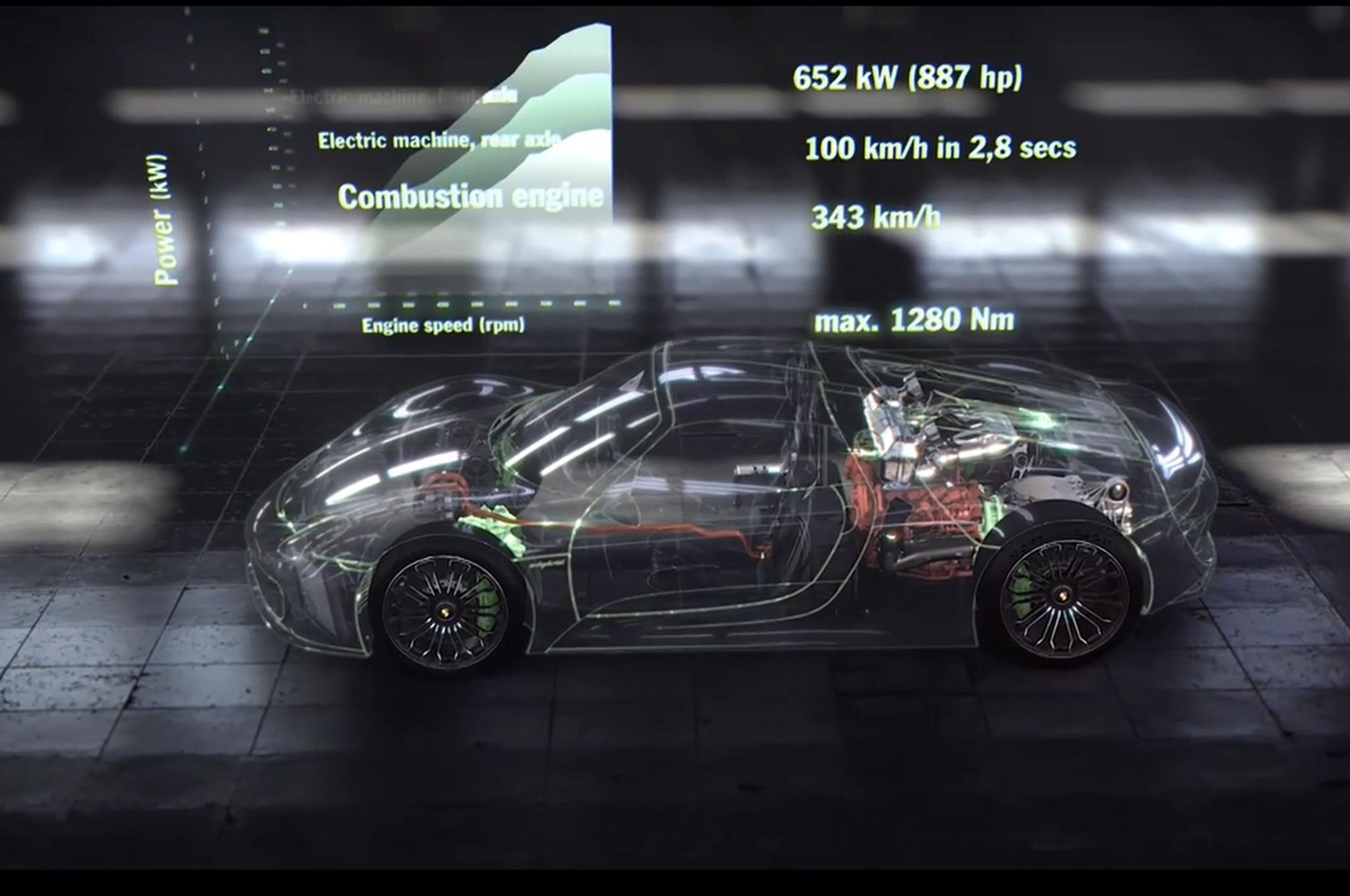 2015 Porsche 918 Spyder Video1
