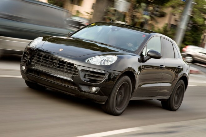 2015 Porsche Macan Prototype Front Three Quarter Motion1 660x438