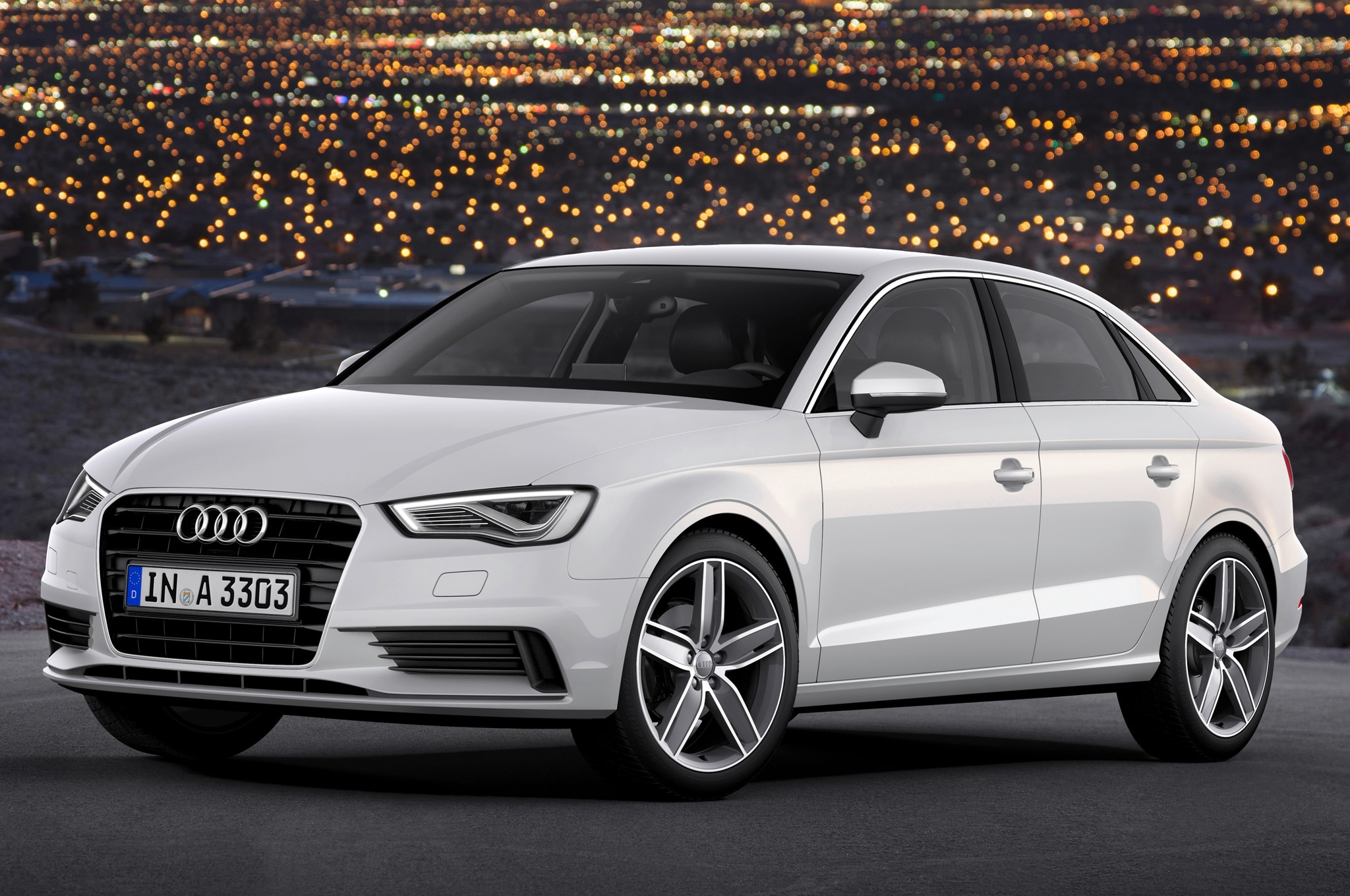 2015 Audi A3 Sedan Front Three Quarters1