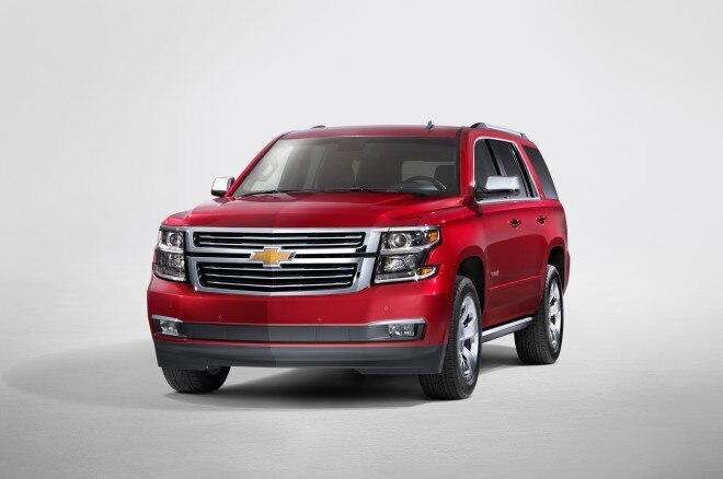 2015 Chevrolet Tahoe Front Angle1 660x438