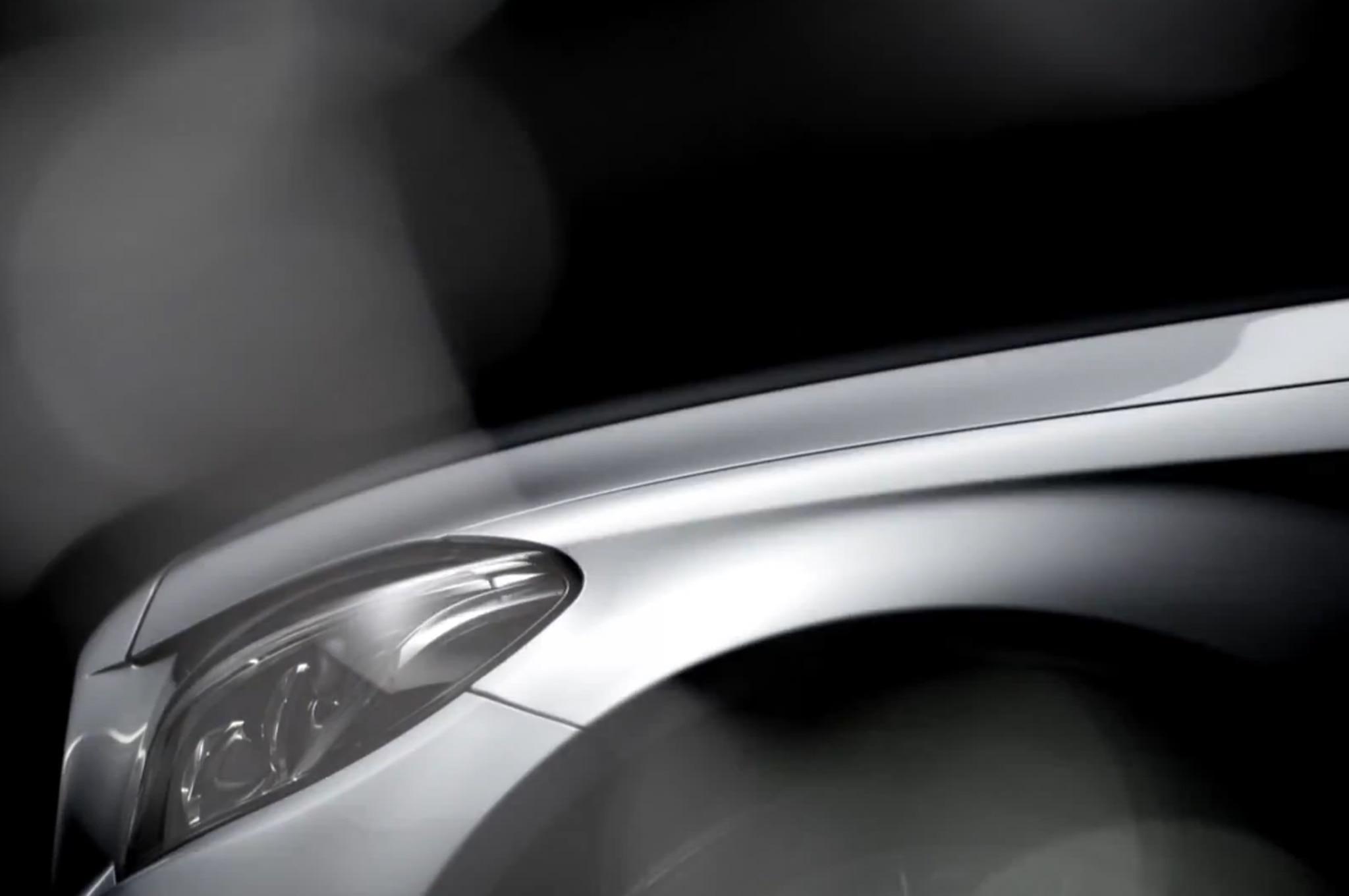 2015 Mercedes Benz C Class Teaser Front End1