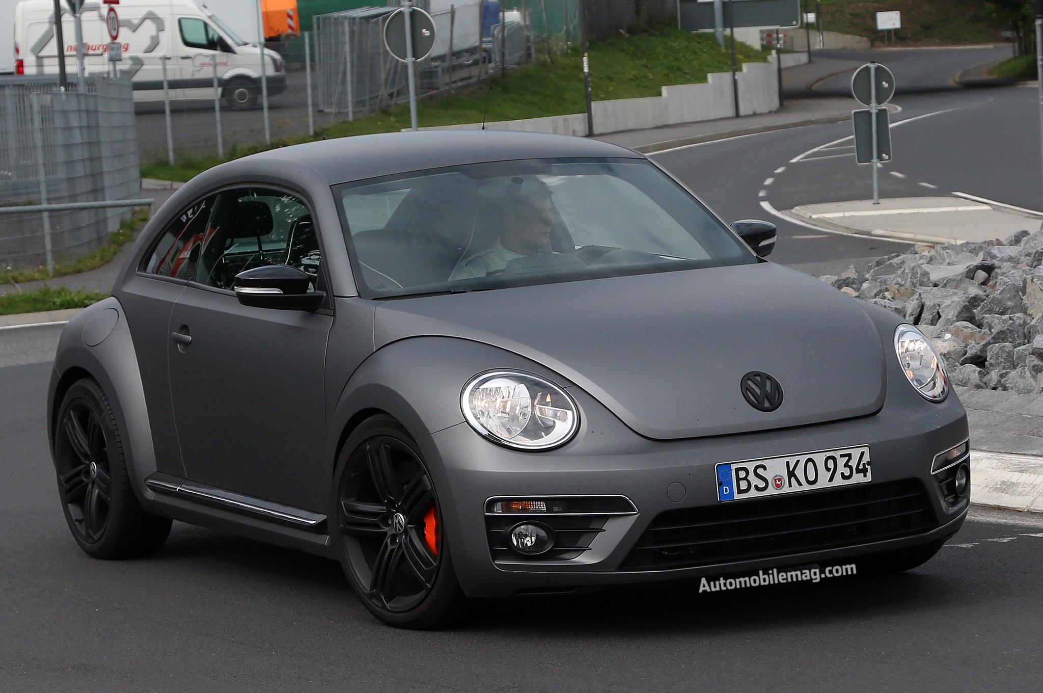 2015 Vw Beetle R Spy Front Three Quarters1