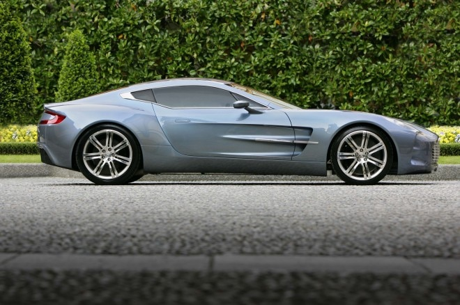 Aston Martin One 77 Profile1 660x438