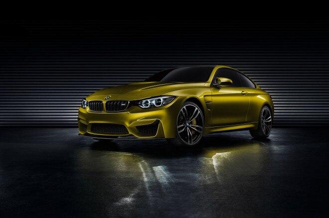 BMW M4 Concept Front Left View1 660x438