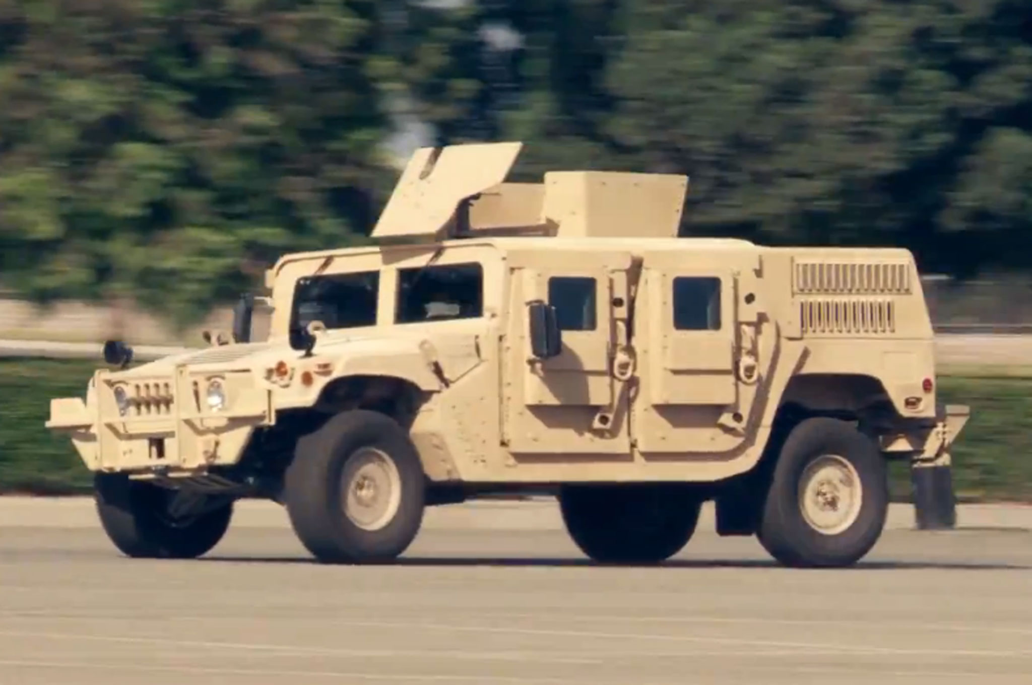 Banks Engineered 1984 General Humvee Around Figure Eight1