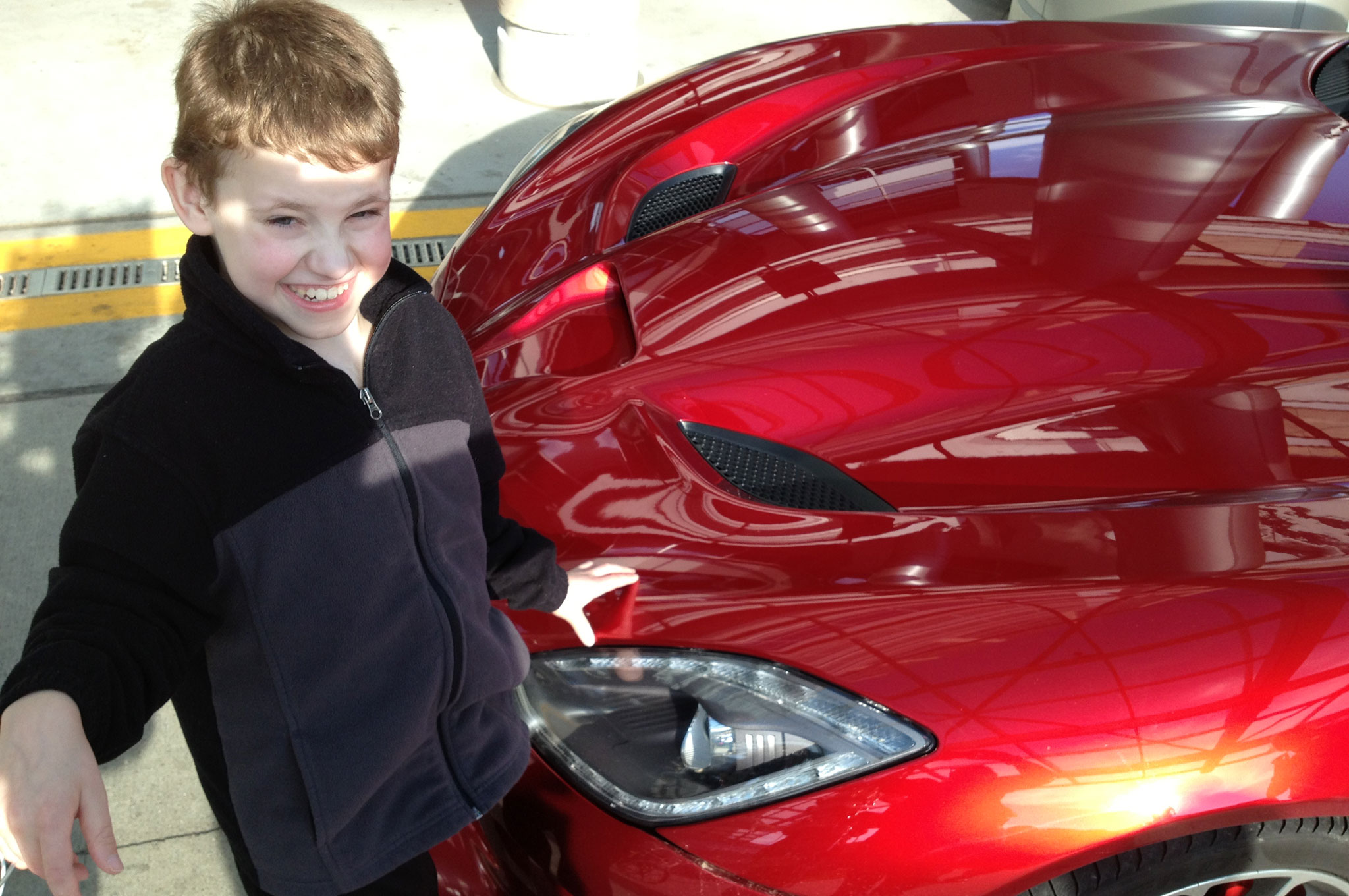 Caden Bowles With SRT Viper1