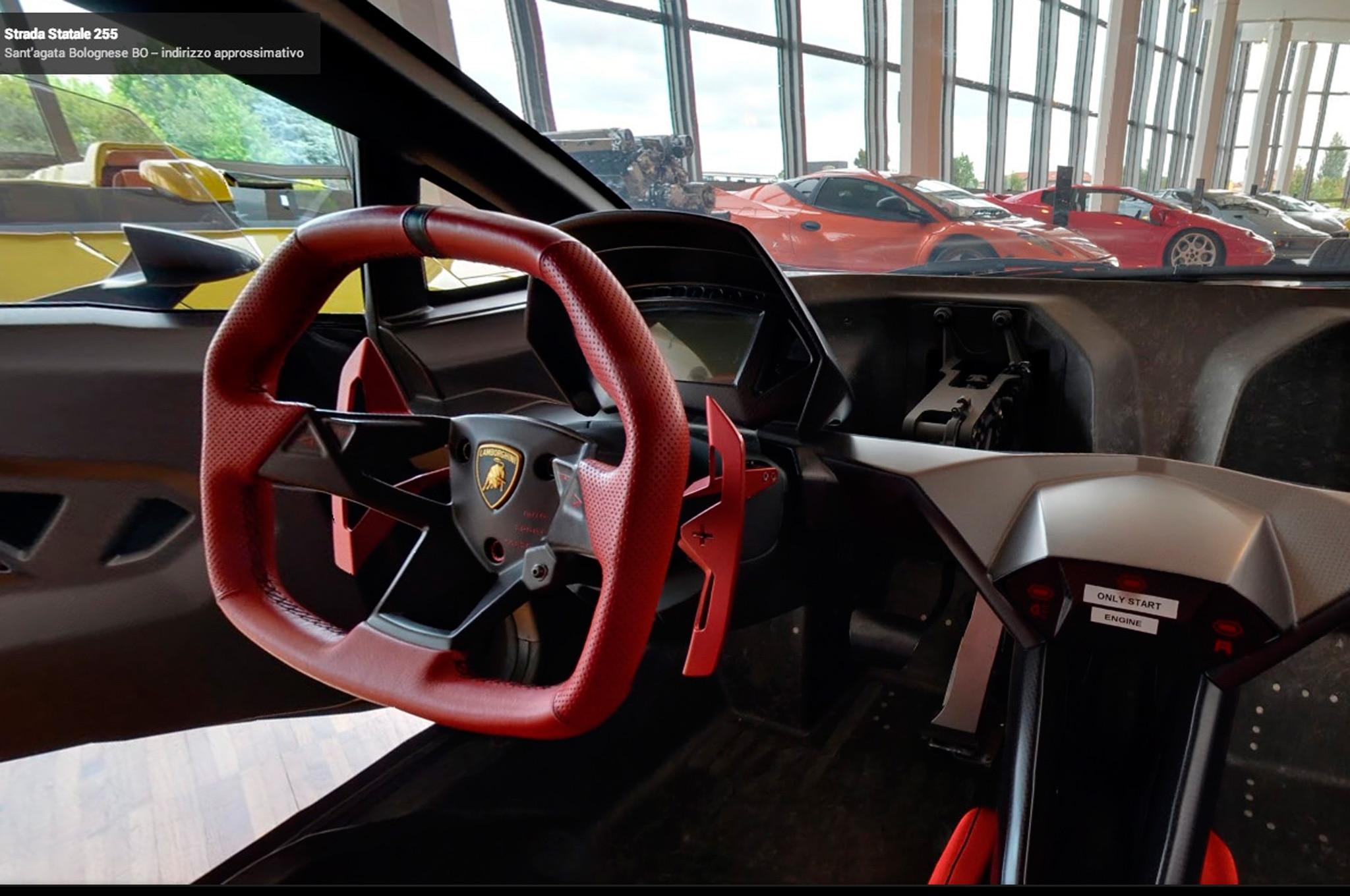 Visit Lamborghini S Museum With Google Street View