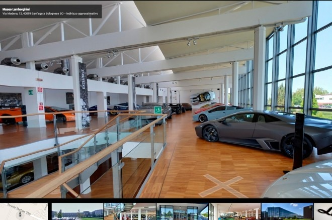 Lamborghini Museum On Google Street View Second Floor View1 660x438