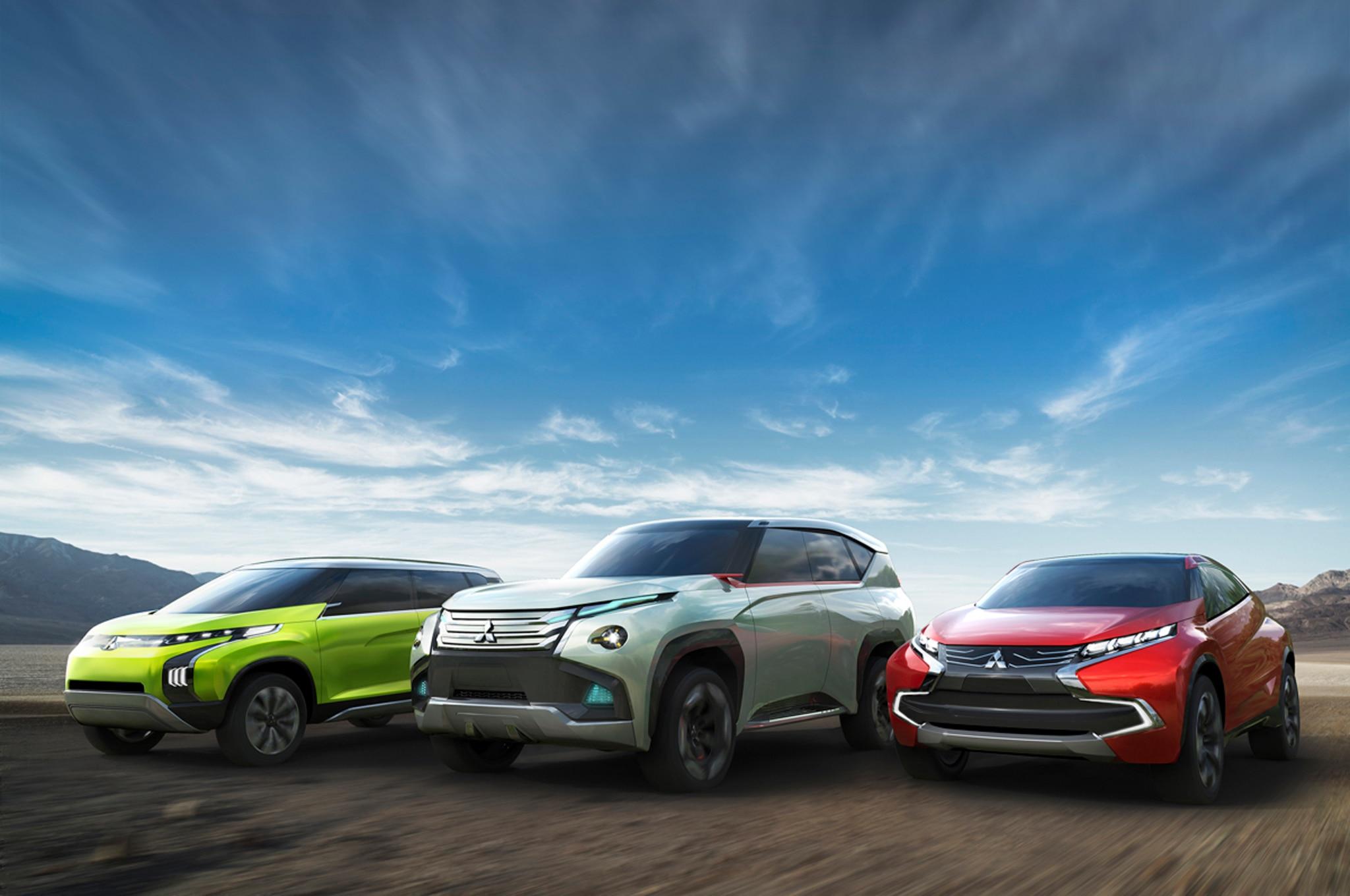 Mitsubishi Tokyo Concept Cars Group1