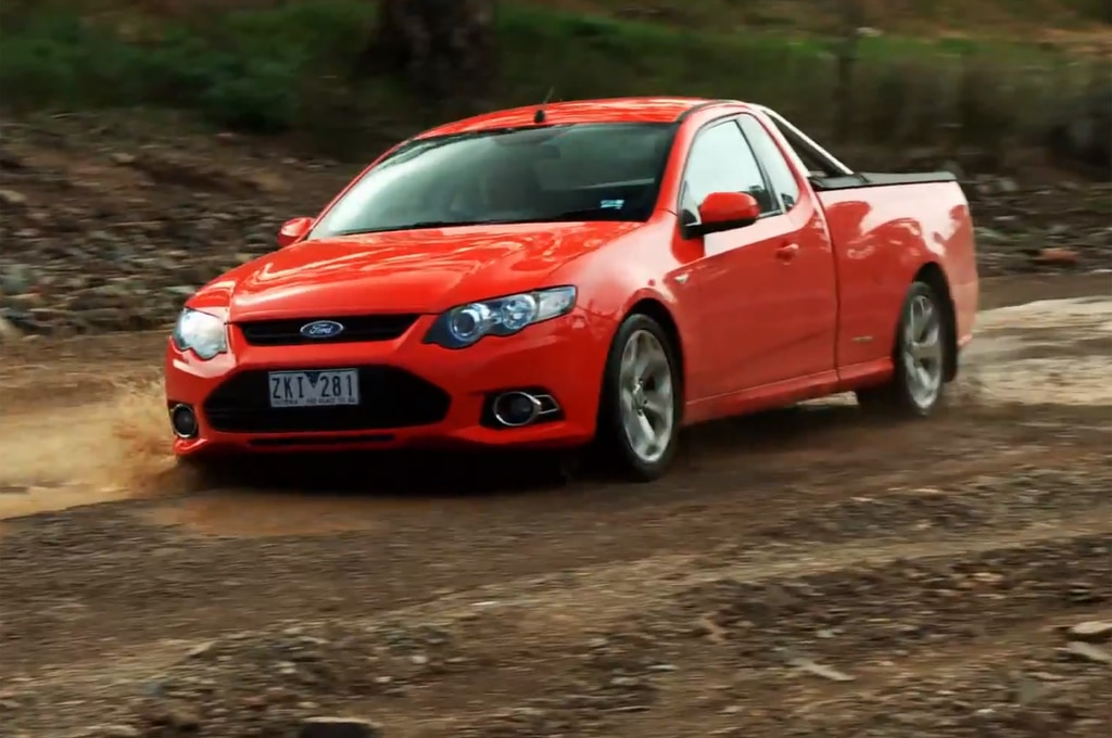 Ford Falcon Xr6 Ute Outback Road1