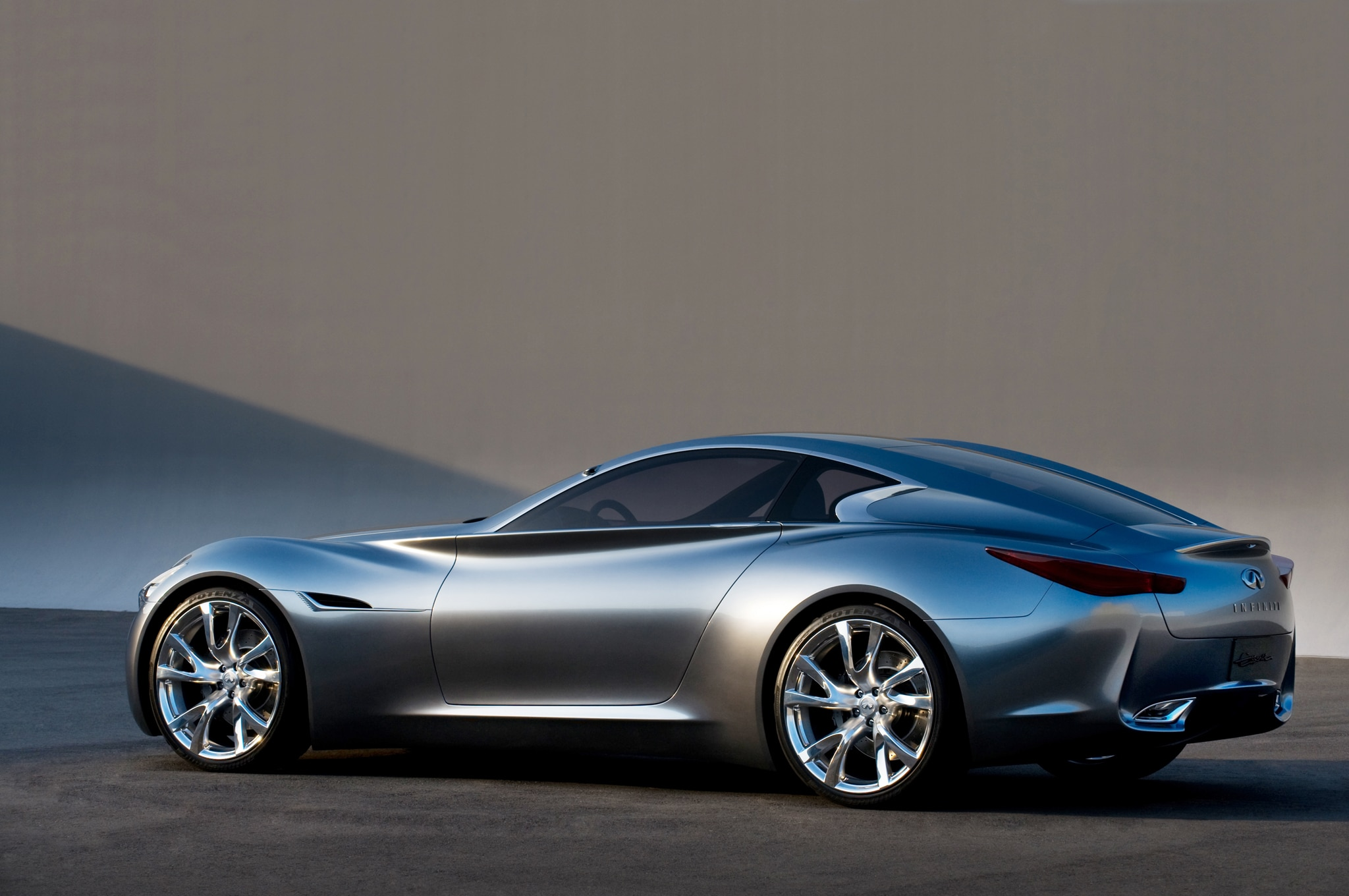 Infiniti Essence Concept Left Rear Angle1