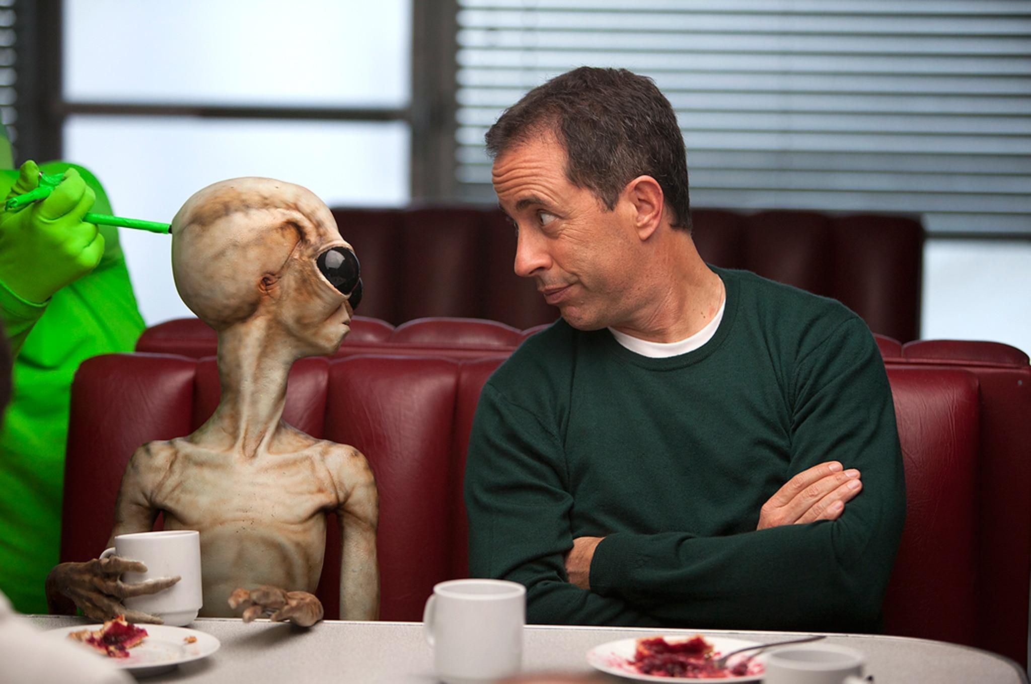 Jerry Seinfeld Alien Diner1