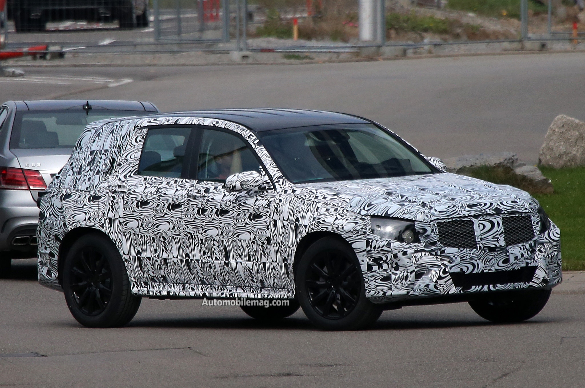 Mercedes Glk Spied Front Three Quarters 21