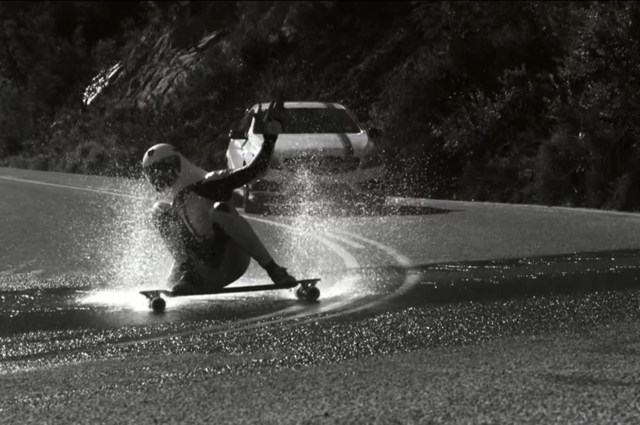 Mercedes Skateboard 11