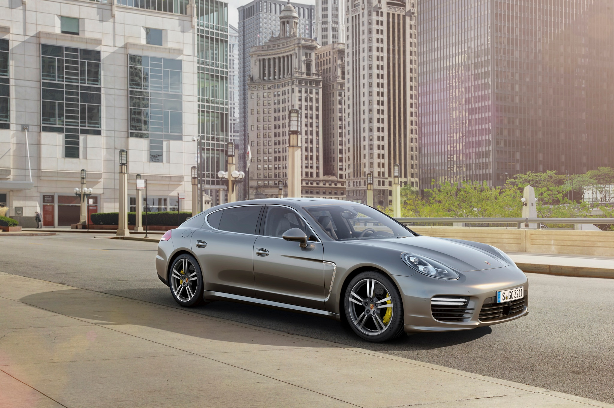 Panamera Turbo S Front Three Quarters1