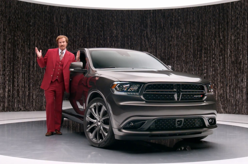 Ron Burgundy 2014 Dodge Durango Glovebox Standard1