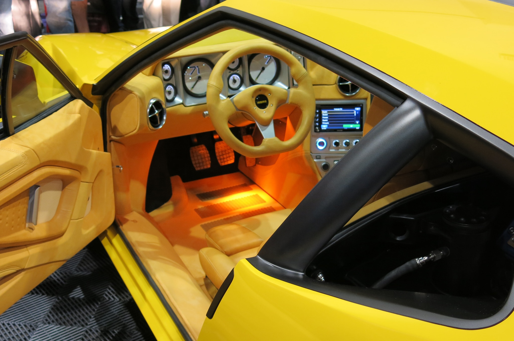 SEMA 2013 1971 DeTomaso Pantera Rebuilt With Chevrolet LS3 Power