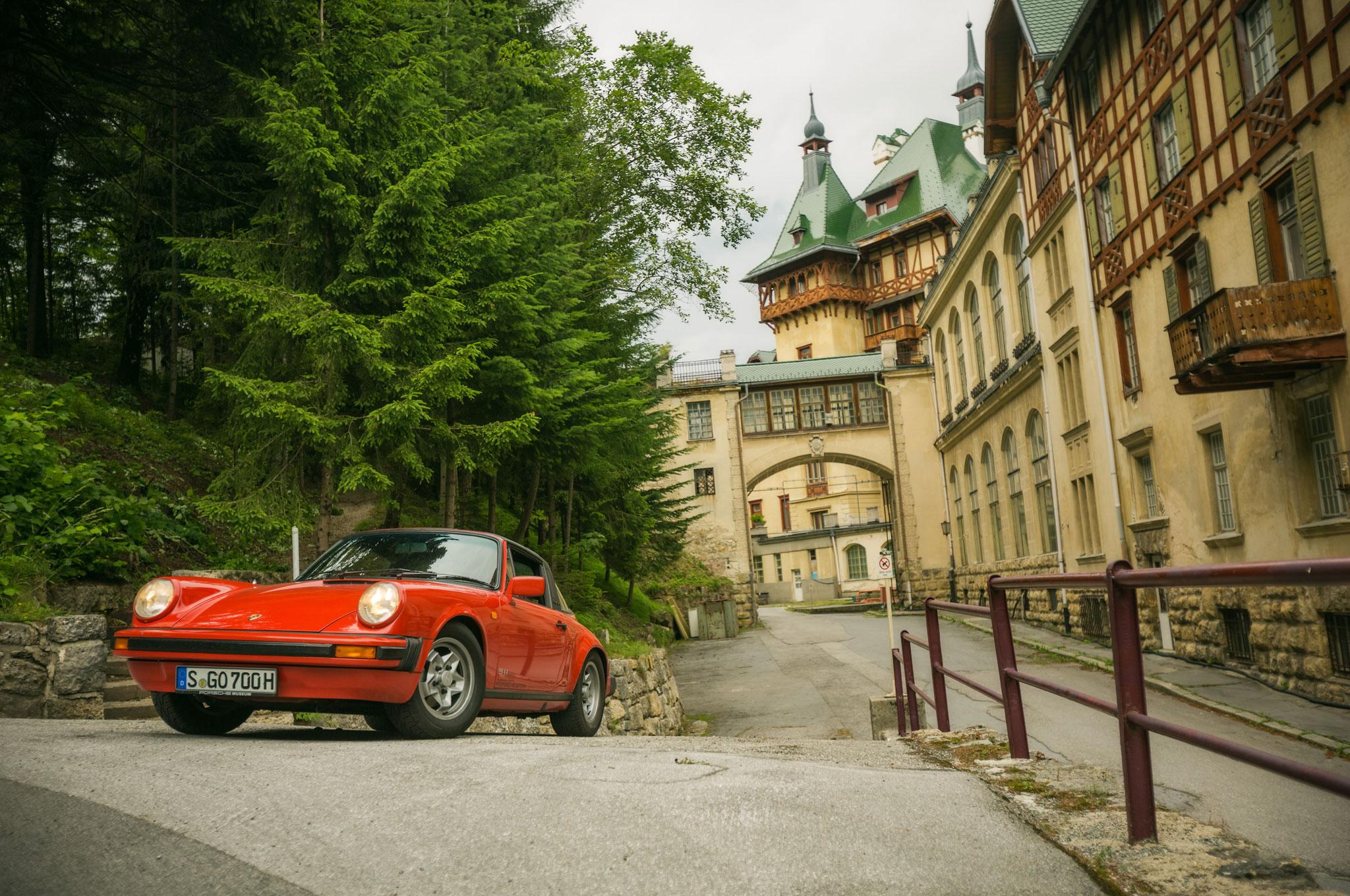 1981 Porsche 911SC Targa Front Left View1