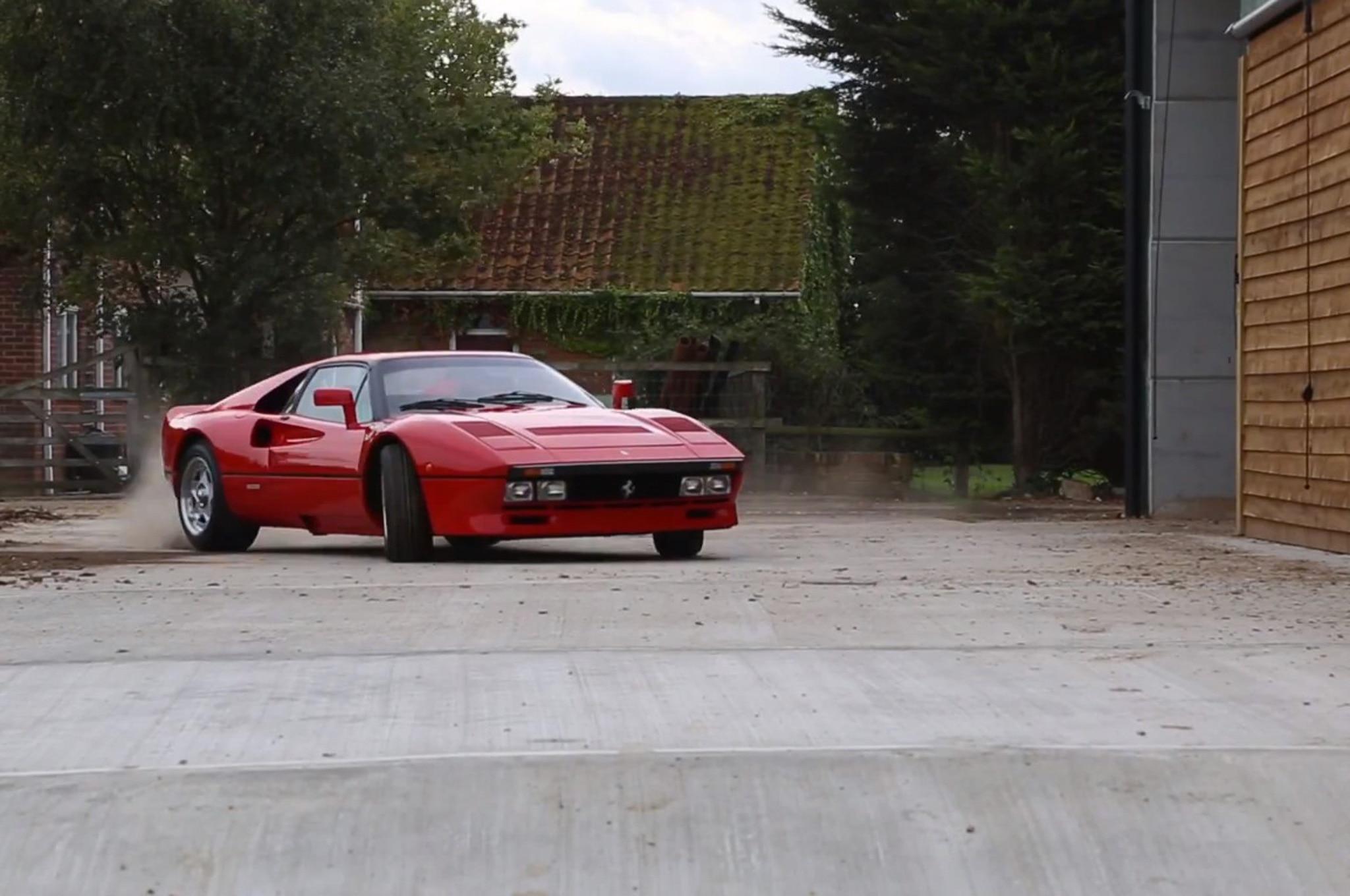 1985 Ferrari 288 GTO Powersliding1