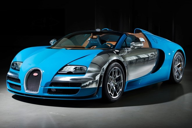 2013 Bugatti Veyron Grand Sport Vitesse Meo Costantini Edition Front Three Quarters View1 660x438