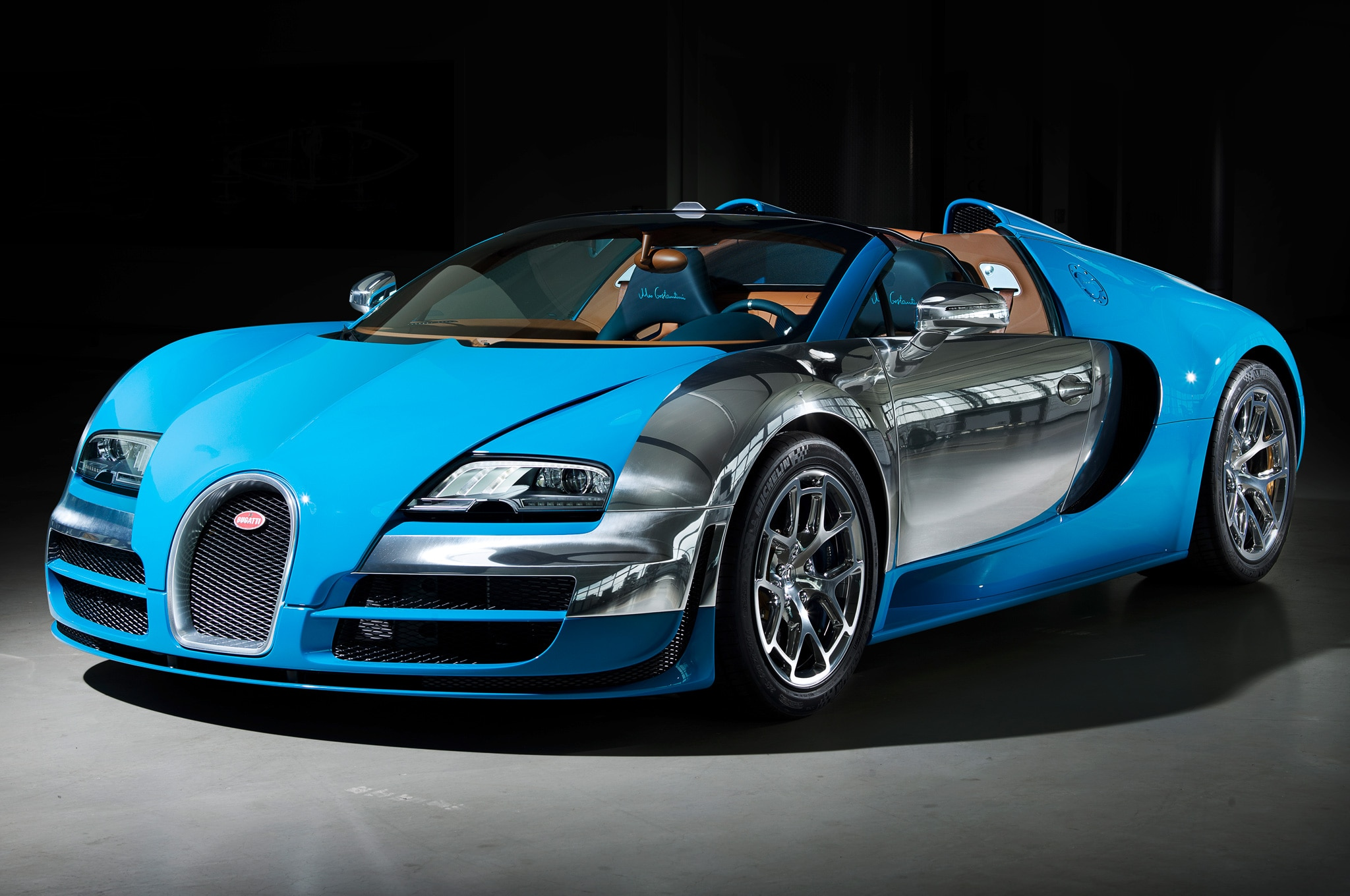 2013 Bugatti Veyron Grand Sport Vitesse Meo Costantini Edition Front Three Quarters View1