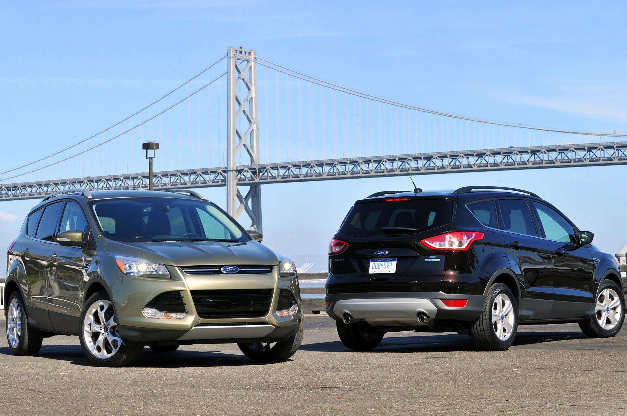 2013 Ford Escape Two Cars1