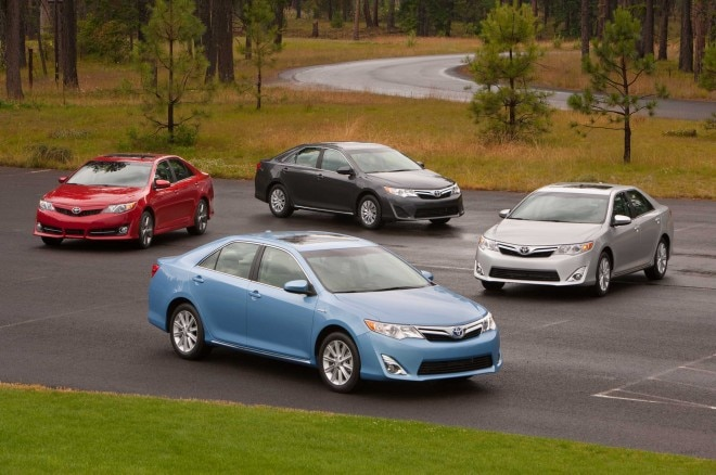 2013 Toyota Camry Lineup1 660x438