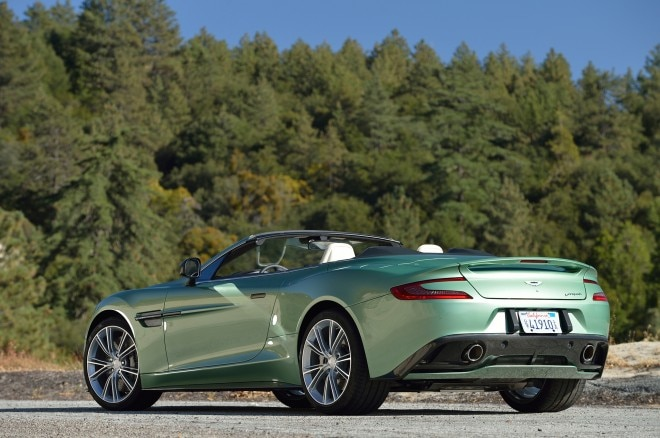 2014 Aston Martin Vanquish Volante Rear Three Quarter1 660x438