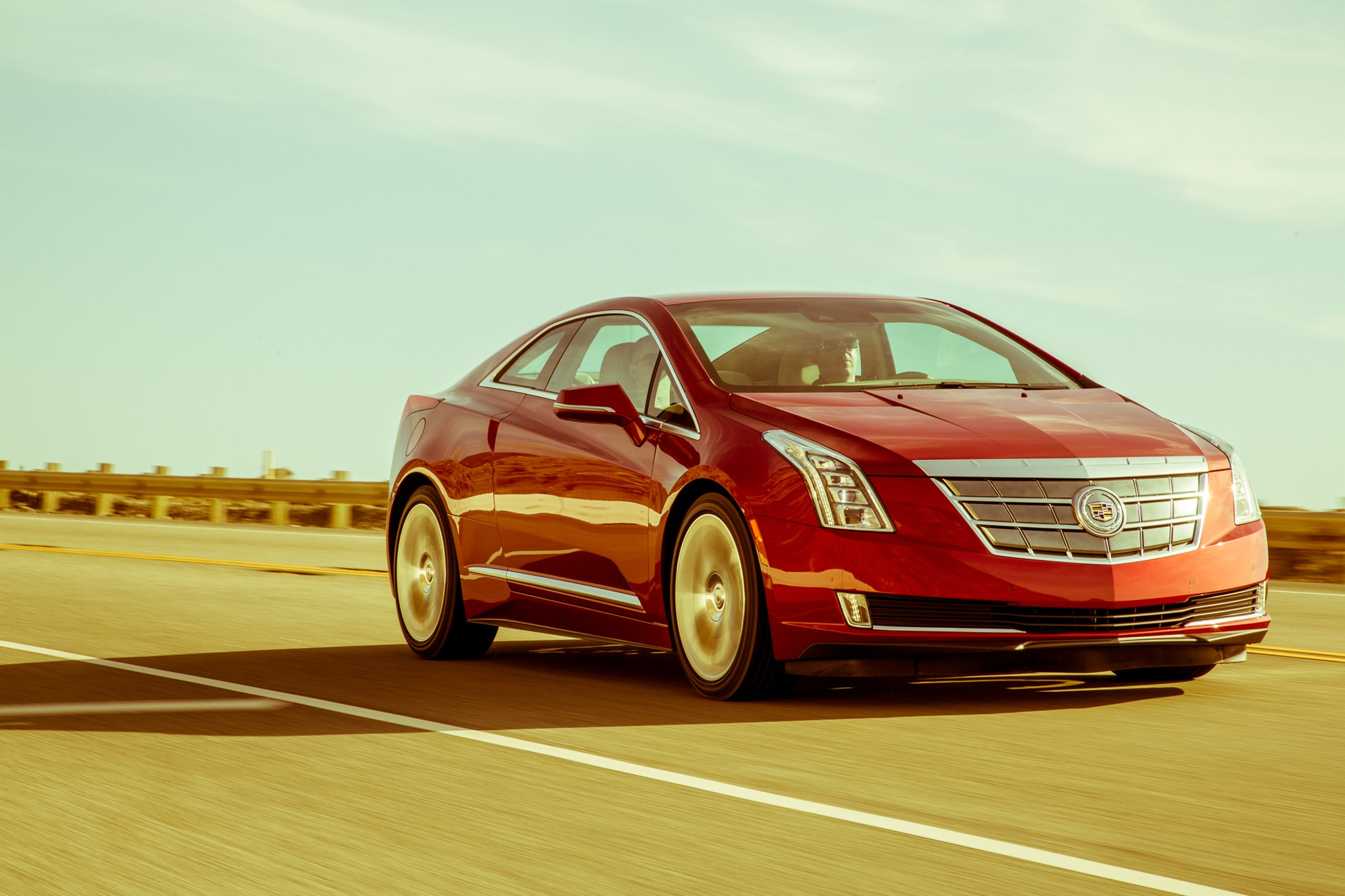 2014 Cadillac ELR Front Three Quarter View 061