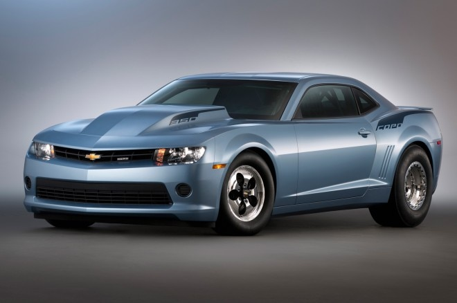 2014 Chevrolet Camaro COPO Front Three Quarters View1 660x438